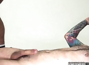 Mature accept anally pounding young otter