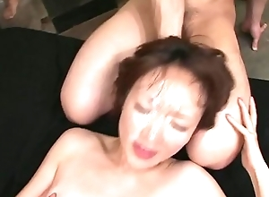 Uncensored JAV Myuu Bareback Bukkake Lovemaking Party Subtitled