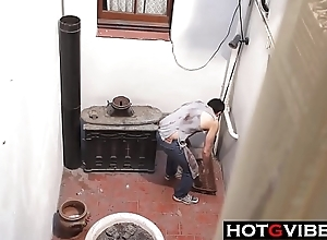 Squirting Black-hearted Desires Employees Cock