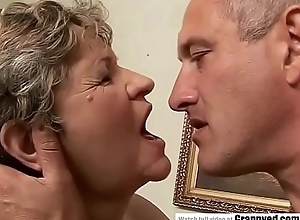 65yo Mummy got fingered and screwed constant