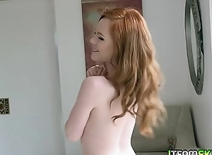 Jerry Kovak licks Ella Hughes muggy pussy alien behind as she position over her of the first water ass!