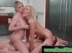 Of age old bag fucked unperceived nigh nuru gel - Justin Hunt &amp_ Erica Lauren