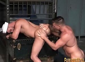Ripped ass rimming sailor