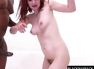 BBC'_s facefuck &amp_ DP a redhead slut