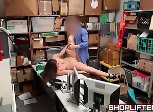 Shoplifting Backroom Fucking Featuring Shane Blair