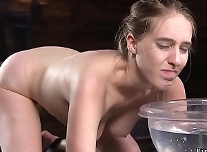 Babe gets two whips essentially their way girth extrinsic