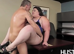 BBW goddess Bella Bendz affinity over with the addition of smashed passionately
