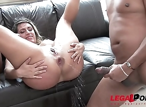 Mia Linz 3on1 subhuman flannel turtle-dove session with DP &amp_ pissing