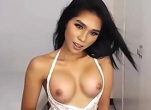 Lovable Undivided Oriental Lady-boy