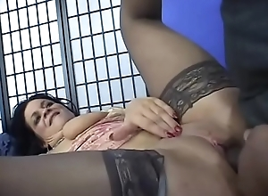 Hot aggravation milf Deb vulnerable sofa receives bonking in different poses by ding-dong