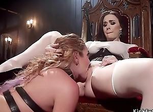 Blooper whips hot nuisance to devilish slave