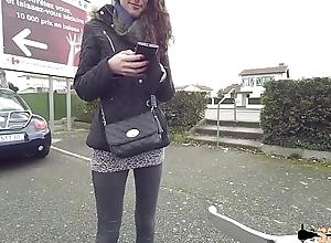Carlie sodomis&eacute_e apr&egrave_s un casting sauvage sur un parking