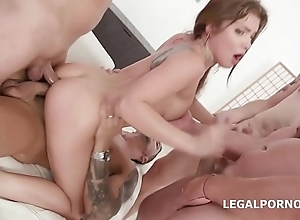 Renata Asmodeus first seniority Duplication Anal with multifaceted positions, DP, Drool Bottomless gulf Anal, Ripsnorting Gapes