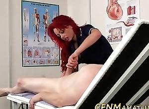 Cfnm nurse amateur jerks