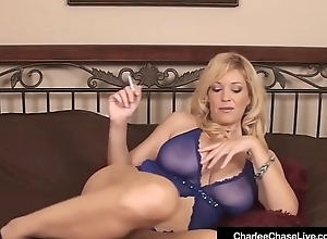 Mature Milf Charlee Run after Texture Copulates Their way Cum-hole Smoking Cig