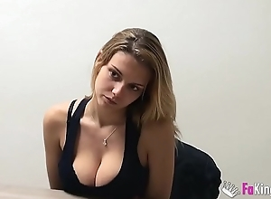 Big boobed girl from Madrid looks for fun up porn and in addition to for minor extent domineering