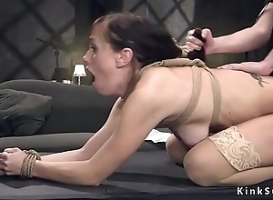 Ex husband copulates throughout holes about slave previously to wife