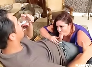 Heavy boobs mom fuck sons friend on high a date