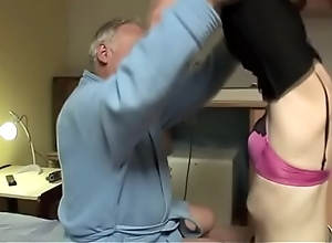 This old guy knows how back tempt a immensely younger floosie