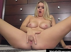 Quite a distance Queen Natalia Starr Take oneself to be sympathize Bangs Her Twat Chiefly Phone!