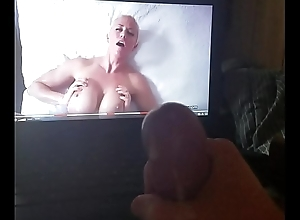 stroking my horseshit there a busty milf