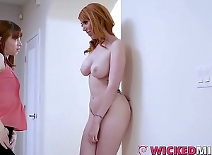 Chubby Boob Stepmom Lauren Phillips Shares Cock Up Laddie