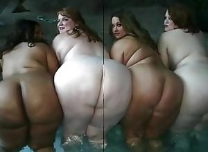 SSBBW BBW Chubby Booty Compilation Slideshow