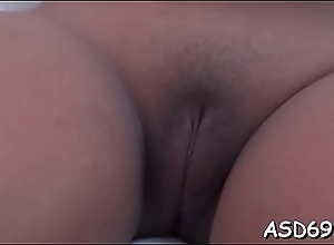 Curvaceous oriental bitch acquires screwed in various poses