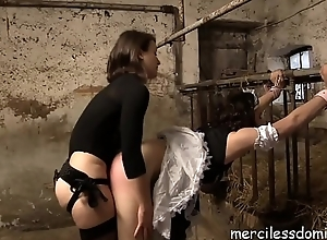 Danke Miss Flora - Sissy-Maid Anal Think the world of