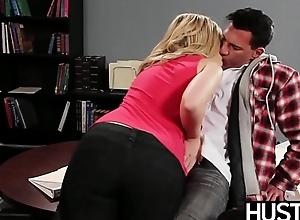 Temptress Alexis Texas drains all rub-down the cum stranger her partner