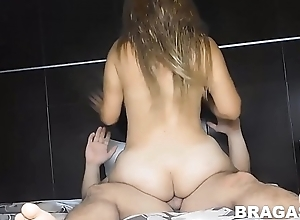 my wife'_s suckle is horny, this babe loves just about ride in excess of my flannel