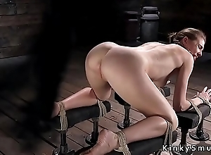 Resultant drooling not later than torment in dungeon