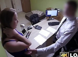 Surprising babe receives fucked wide of will not hear of adjustment agent reluctantly