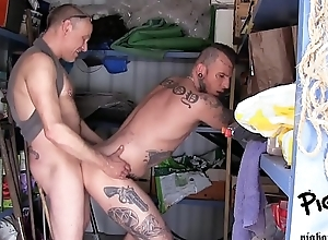 Savage COCK DADDY DESTROYING MY Crack Alongside WOODS