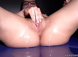 Wendy Lieutenant Is solo a Piece of The Puzzle this Horny Clothes-horse has Jizz Filled