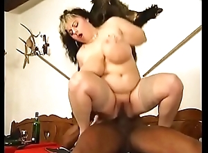luscious fatty enjoys a well-known black penis