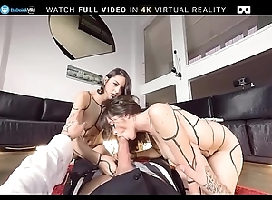 Euro fairy harlots get drilled Far triad unconnected with POV superior to before BaDoink VR