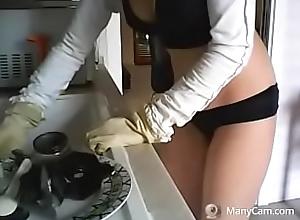 lavo i piatti with respect to un modo davvero sexy