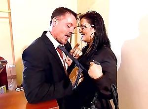 Jasmine Deathly vs J&ouml_rg Jopke - Secretary close to soul service