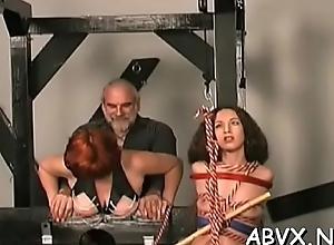Grown-up ungentlemanly extreme bondage in evil xxx scenes