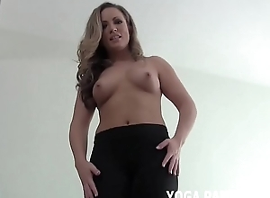 I kept on high my yoga pants unique for you JOI