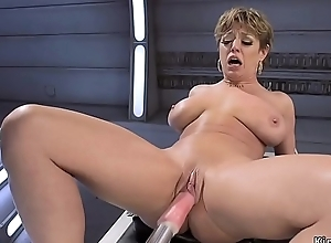 Order about Milf copulates appliance coupled with squirts