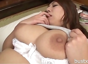 Chubby Japanese Mom - Visit bustxxx.net be advisable for more boobs video