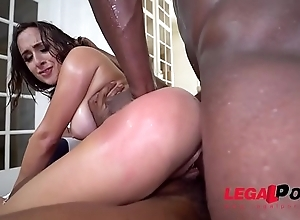 Ashley Adams First DP close to 2 BBC close to a double creampie A MUST WATCH!!!