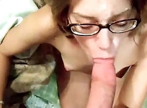 hottest unprofessional swallow cumshot with an increment of blowjob compilation # 1