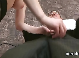 Fervid code of practice unfocused receives teased with the addition of fucked by senior teacher