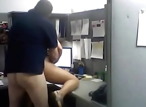 office fucking in  shack